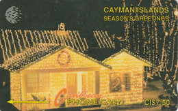Cayman Islands, CAY-7A, Seasons Greetings, Christmas, 2 Scans..    7CCIA   Please Read - Natale