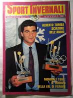Sport Invernali 5 1988 De Zolt Tomba Carlo Valentino Olimpiadi Calgary Passler Azzittà Mader Zurbriggen Mondiali Crans - Sport