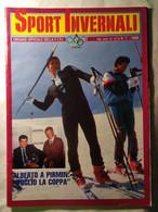 Sport Invernali 7 1988 Tonazzi Tomba Blanc Vitalini Runggaldier Compagnoni Dalmasso Campionati Colere De Zolt Messner - Sport