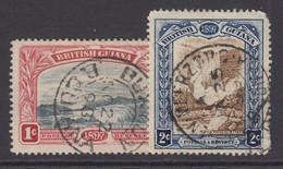British Guiana, Scott 152-153 (SG 216-217), Used - British Guiana (...-1966)