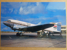 SYRIAN ARAB AIRLINES   DC 3   YK-ACC    / COLLECTION VIL N° 1524 - 1946-....: Modern Era