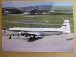 SYRIAN ARAB AIRLINES   DC 6B  YK-AEA    / COLLECTION VIL N° 1525 - 1946-....: Modern Era