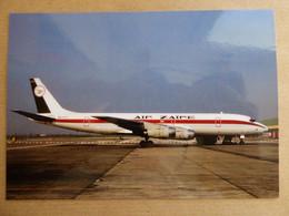 AIR ZAIRE CARGO   DC 8-50   9Q-CLV   / COLLECTION VIL N° 1529 - 1946-....: Modern Era
