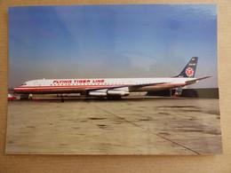 FLYING TIGER LINE  DC -63F   N624FT  / COLLECTION VIL N° 1530 - 1946-....: Modern Era