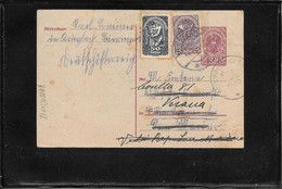 Austria 1920, Postal Stationery To San Marino Redirected To Verona, Italy  ( Ref 1182b) - Covers & Documents
