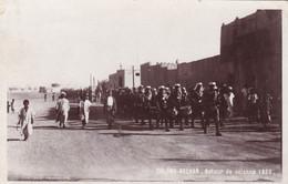 ALGÉRIE, COLOMB-BECHAR, RETOUR DE COLONNE 1933. CARTE POSTALE CIRCULEE 1933. - LILHU - Bechar (Colomb Béchar)