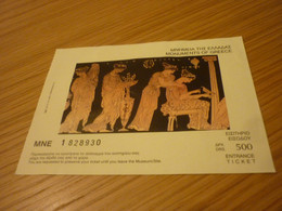 Monuments Of Greece Museum Admission Greek Ticket - Tickets - Vouchers