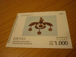 Herakleion Crete Museum Admission Greek Ticket (Gold Jewel From Malia) - Tickets - Vouchers