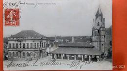 CPA (72). Mamers. Théâtre Et Vieille Halle.  (AC.425) - Mamers