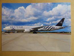KLM / SKYTEAM  B 777-306ER   PH-BVD / COLLECTION VIL N° 1543 - 1946-....: Modern Era
