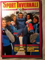 Sport Invernali 9 1985 Schranz Gros Mahre Giovanoli Quario Zini Figini Mckinney Kiehl Vuarnett Bleiner Stevenin Bonfini - Sport