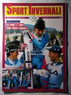 Sport Invernali 1 1987 Hinterseer Edalini Thoeni Gros Pegorari Conci Mauduit Troupe Bonnet Perillat Striker Nogler Plank - Sport