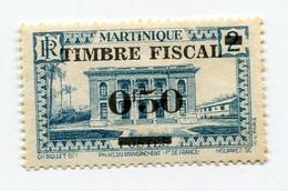 MARTINIQUE TIMBRE FISCAL (*) - Ungebraucht