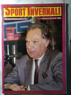 Sport Invernali 9 1987 Walliser Toetsch Magoni Tomba Ladstaetter Mair Erlacher Heinzer Stenmark Girardelli Zurbriggen - Sport