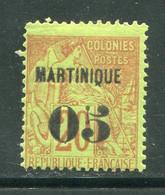 MARTINIQUE- Y&T N°4- Neuf Avec Charnière * - Ungebraucht
