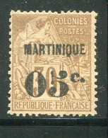 MARTINIQUE- Y&T N°12- Oblitéré (belle Cote!!!) - Gebraucht