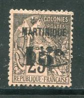 MARTINIQUE- Y&T N°17- Oblitéré (belle Cote!!!) - Gebraucht