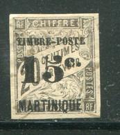 MARTINIQUE- Y&T N°21- Oblitéré (belle Cote!!!) - Gebraucht