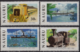 NAURU - 75e Anniversaire De La Création De L'industrie Du Phosphate - Nauru