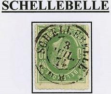 """N° 30 : DC Met Prachtige Leesbare Stempel """" SCHELLEBELLE """" + 30 - 1869-1883 Leopold II"""