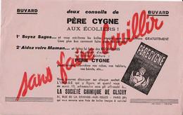 BUVARD & BLOTTER - TEINTURE PERE CYGNE - Conseils Aux Ecoliers - Sté Chimique De Clichy, Paris Xème - Ohne Zuordnung