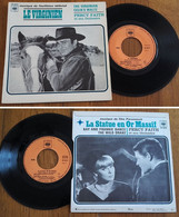 "RARE French EP 45t RPM BIEM (7"") BOF TV ""LE VIRGINIEN"" (The Virginian P/s, 1966) - Soundtracks, Film Music"