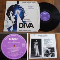 "RARE LP 33t RPM (12"") BOF OST ""DIVA"" (Vladimir Cosma, West Germany, 1981) - Soundtracks, Film Music"