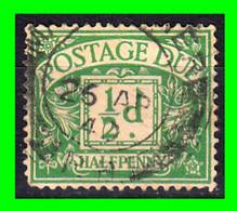 GRAN BRETAÑA -&- SELLO AÑO 1914 1/2-d VERDE GEORGE V - Used Stamps