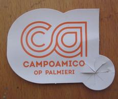 Campoamico  Italy  Mini Etichetta Fruit Frutta   Usata - Fruits & Vegetables