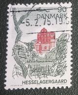 Denemarken - 1974 - Michel 567 - Gebruikt - Cancelled - Toerisme - Hesselagergaard - Ile De Fionie - Gebraucht