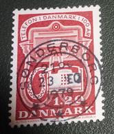 Denemarken - 1979 - Michel 675 - Gebruikt - Cancelled - Telefonie - Gebraucht