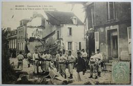 MAMERS Catastrophe Du 7 Juin 1904 Moulin De La Ville Et Maison Boblet Détruits - Mamers