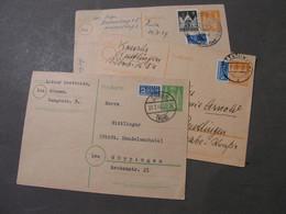 3 Alte Karten  Süssen , Peutlingen , - Covers & Documents