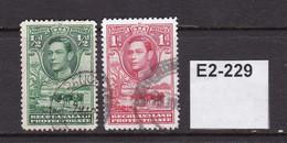 Bechuanaland 1938 ½d And 1d - 1885-1964 Bechuanaland Protectorate