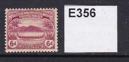 British Solomon Islands 1907 6d (MM) - British Solomon Islands (...-1978)
