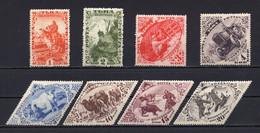 1934. RUSSIA, USSR, TUVA, SET OF 8 STAMPS, MNH - Nuevos