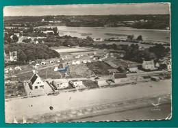CP CAP COZ FOUESNANT La Plage Et Le Camping - Panorama Sur La Plage De Kerleven (postée En 1963) - Fouesnant