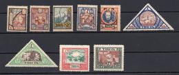 1927. RUSSIA, USSR, TUVA, SET OF 9 STAMPS, MNH - Nuevos