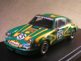 PORSCHE 911 S 1000 KM. PARIS 1972 FITZPATRICK-KREMER ROBUSTELLI 1/43 TRUE - Altri