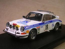 PORSCHE 911 CARRERA RS EAST AFRICAN SAFARI 1974 WALDEGAARD ROBUSTELLI 1/43 TRUE - Altri