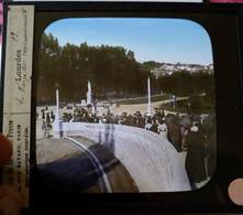 Lourdes - 2 Plaques De Verre Lanterne Magique - Maison De La Bonne Presse TBE - Glass Slides