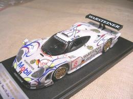 PORSCHE 911 GT1 WARSTEINER OSCHERSIEBEN 1998 WOLLEK MULLER ALZEN BBR 1/43 TRUE - Altri