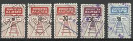 FINLAND FINNLAND 1946-1953 Jokioisten Railway Stamps O - Paketmarken
