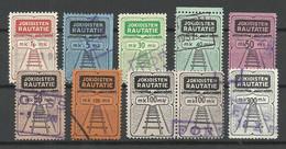 FINLAND FINNLAND 1930-1950 Jokioisten Railway Stamps O - Paketmarken