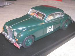 JAGUAR MKVII 1° RALLY MONTECARLO 1956 ADAMS PROVENCE MOULAGE 1/43 TRUE - Altri