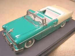 CHEVROLET BEL AIR CABRIOLET 1955 ROAD CAR TUTONE PROVENCE MOULAGE 1/43 TRUE - Altri