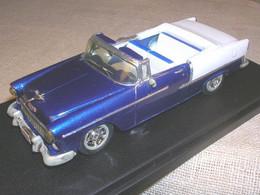 CHEVROLET BEL AIR CABRIOLET 1955 CUSTOM ROAD CAR TUTONE PROVENCE MOULAGE 1/43 - Altri