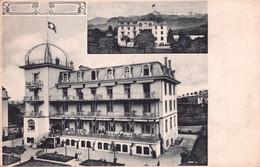 Luzern Switzerland Hotel Antique Postcard - Non Classificati