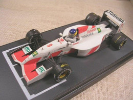 FOOTWORK MUGEN FA13 F1 GERMAN GP 1992 ALBORETO TAMEO 1/43 TRUE - Altri