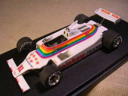 WILLIAMS FORD FW07 F1 THEODORE RACING USA GP 1980 LEES TAMEO 1/43 TRUE - Altri